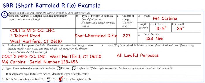How To Fill Out Atf Form 1